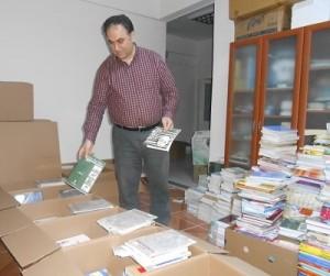KÖYLERE 5000 KİTAP YOLLADIK