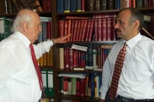 Prof.Dr. Fuat Sezgin ile çalışmalarımız hem onur, hem zevk.